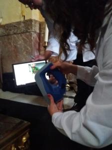 Nuestro equipo digitalizando con artec EVA