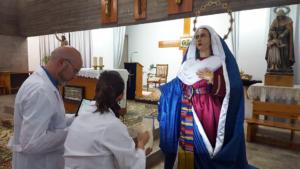 Digitalización de la Virgen del Amparo, Cuenca