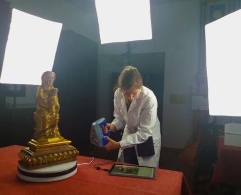 Digitalizacion de Nuestra Señora de Gracia Coronada (Belmonte)