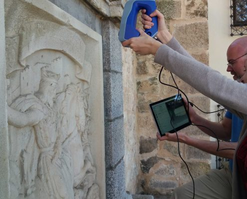 Digitalización de la fuente del Escardillo