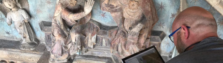 Escaneado 3D Pórtico de Santa María Morella