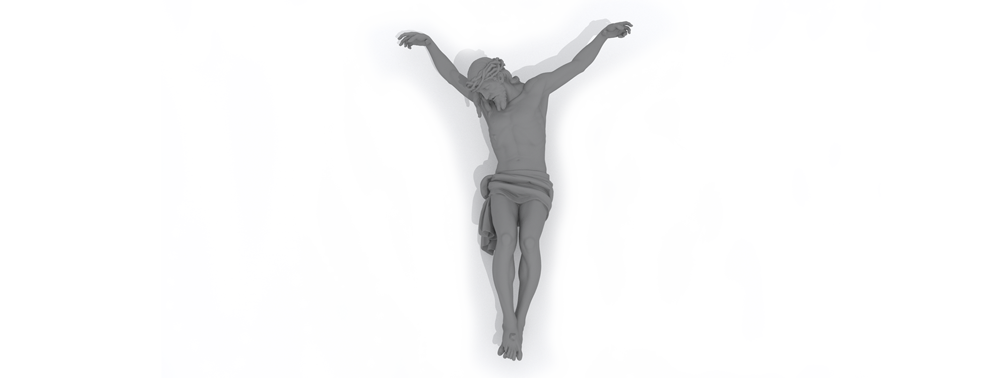 Portada Cristo Buena Muerte 2 Arte Sacro 3D - Todo 3D
