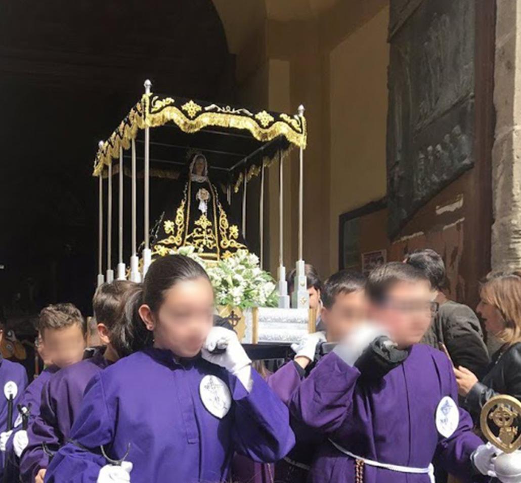 Soledad San Agustin - Semana Santa infantil
